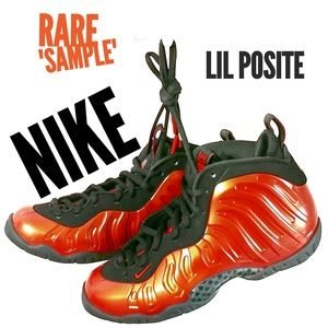 New Nike Lil Posite Big Boy 3.5 Habanero Red
